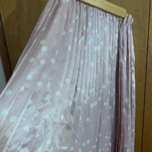 Vintage sz 6 Evan-Picone silk pleated skirt